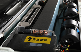 brushless blower, electric compressor, electric air conditioning, bus HVAC